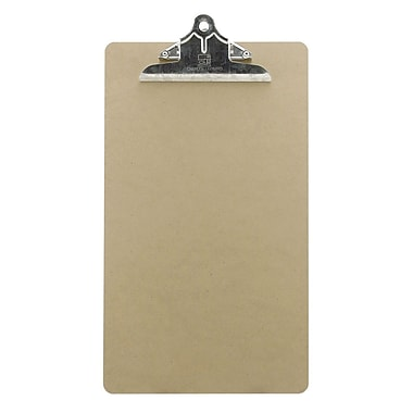 Charles Leonard 1/8in. Masonite Clipboard, Legal Size