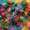 Chenille Kraft® Stringing Ring Bead, 220/Pack
