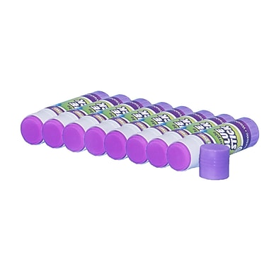Chenille Kraft Economy Glue Sticks 0.7 oz., 30/Pack, Purple