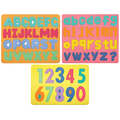 Chenille Kraft® WonderFoam® Magnetic Letters & Numerals Puzzle Set, 13 1/2in. x 13 1/2in.