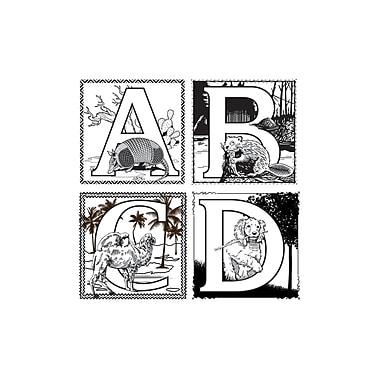 Chenille Kraft® Alphabet Collection Embossed Paper Set