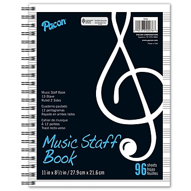 Pacon® Music Staff Book, Grades Preschool - 9