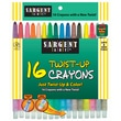Sargent Art® Twist Up Crayon, 16/Pack
