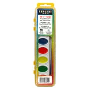 Sargent Art Non-toxic Semi-Moist Fluorescent Watercolor, Assorted (SAR668222)