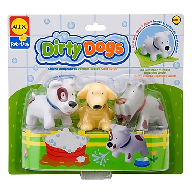 Alex Toys® 3in. x 10in. Dirty Dogs Educational Toy