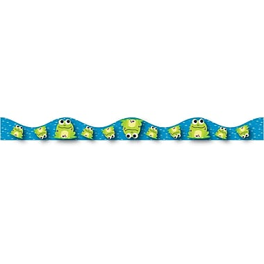 Ashley Grade Preschool-12 Magnetic Border, Frogs