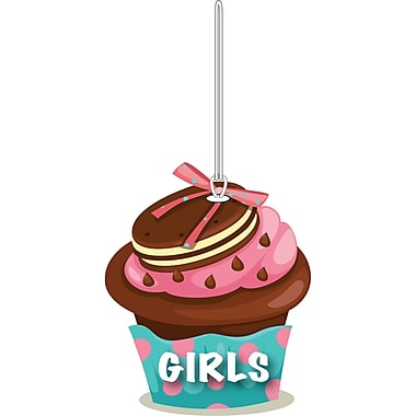 Ashley 4in. Soft Rubber Cupcake Girls Hall Pass