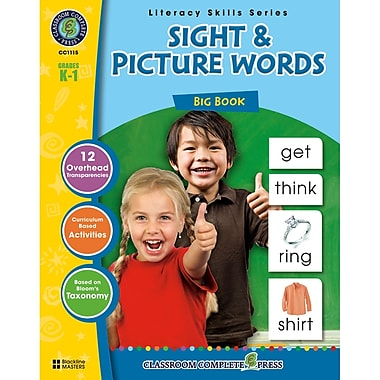 Classroom Complete Press Sight & Picture Words Big Book, Grade PreK - 2