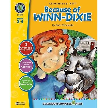 Classroom Complete Press Because Of Winn Dixie Literature Kit, Grade 3 - 4