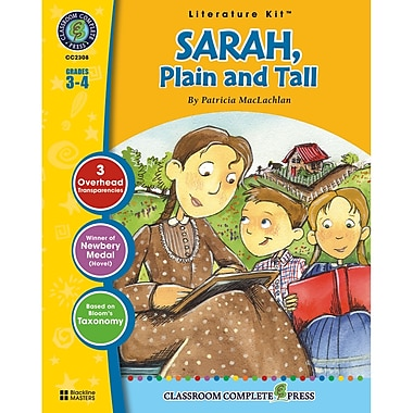 Classroom Complete Press Sarah Plain and Tall Literature Kit, Grade 3 - 4