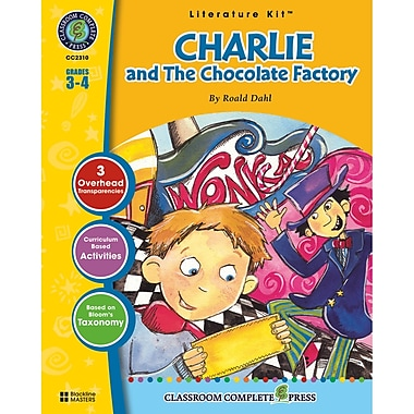 Classroom Complete Press Charlie and The Chocolate Factory Literature Kit, Grade 3 - 4
