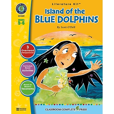 Classroom Complete Press Island of the Blue Dolphins Literature Kit, Grade 5 - 6