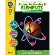 Classroom Complete Press Matter & Energy Series Atoms Molecules & Elements Book, Grades 5-8