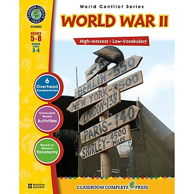 Classroom Complete Press World Conflict Series World War II Activity Book, Grades 5 - 8