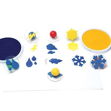 Center Enterprises CE-6764 Multicolor Stamps, 6/Set