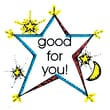 Center Enterprises Good For You Star Sweet Arts Artistic Rubber Stamp