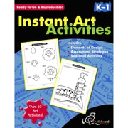 Chalkboard Publishing Instant Art Activities Book, Grade K - 1
