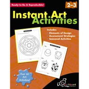 Chalkboard Publishing Instant Art Activities Book, Grade 2 - 3