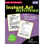Chalkboard Publishing Instant Art Activities Book, Grade 4 - 6