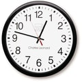 Charles Leonard 14in. Thinline Wall Clock