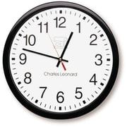 Charles Leonard 14 Thinline Wall Clock