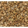 Chenille Kraft® 8 oz. Mixed Bone Beads, Assorted