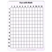 Chenille Kraft® 2 Sided Math Whiteboard, 12 x 9