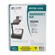 C-Line® Laser Printer/Plain Paper Copier Film, Clear