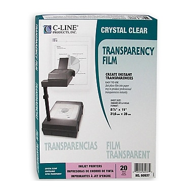 C-Line® Ink Jet Transparency Film, Clear