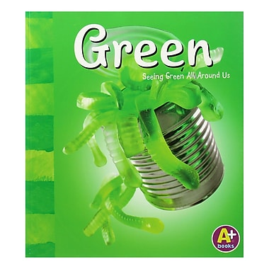 Capstone Press Paperback Green Color Series Book
