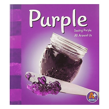 Capstone Press Paperback Purple Color Series Book