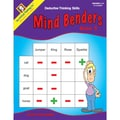 Critical Thinking Press™ Mind Benders Book 3 Deductive Thinking Skills Book, 3 - 6 Grade