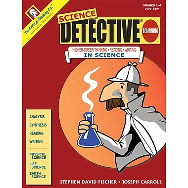 Critical Thinking Press™ Science Detective® Beginning Critical Thinking Book, 3 - 4 Grade