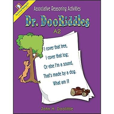 Critical Thinking Press™ Dr. DooRiddles A2 Activity Book, PreK-2 Grade