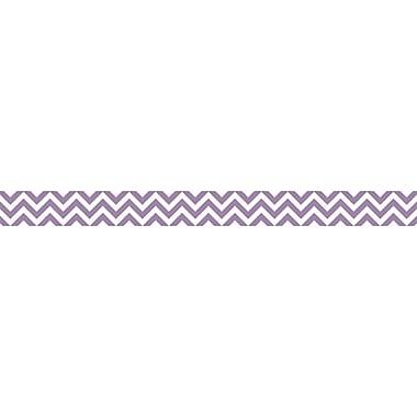Creative Teaching Press® Grade Toddler - 12 Chevron Border, Purple