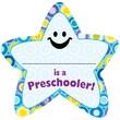 Creative Teaching Press® I'm a Preschooler Star Badge