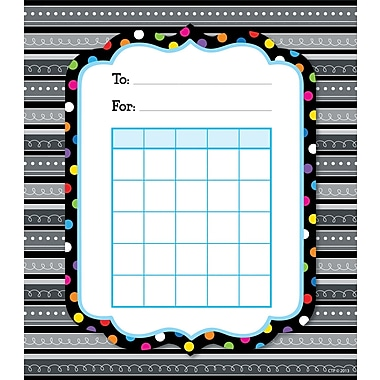Creative Teaching Press® Black And White Student Incentive Chart, 5 1/4