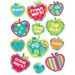 Creative Teaching Press® Stickers, Dots On Turquoise Apples