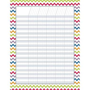 Creative Teaching Press® Chevron Incentive Chart, 17