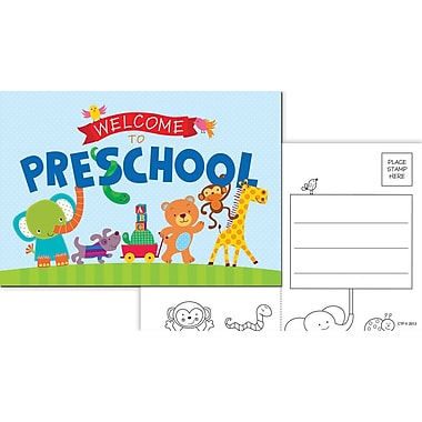 Creative Teaching Press® Welcome To Preschool Postcards