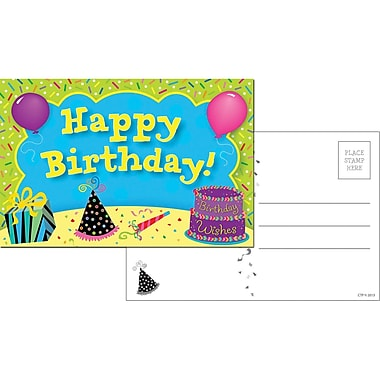 Creative Teaching Press® Happy Birthday Postcards