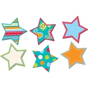 "Creative Teaching Press® 6"" Designer Cut-Outs, Dots on Turquoise Stars"