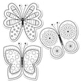 Creative Teaching Press® 6in. Designer Cut-Outs, Color-Me Butterflies