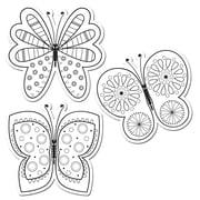 Creative Teaching Press® 6 Designer Cut-Outs, Color-Me Butterflies