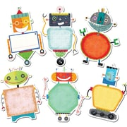 "Creative Teaching Press® 10"" Jumbo Designer Cut-Outs, Riveting Robots"