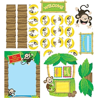 Creative Teaching Press® Bulletin Board Set, Monkey Business
