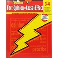 Creative Teaching Press® Power Practice: Fact or Opinion and Cause & Effect Book, Grade 3 - 4