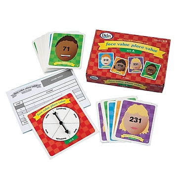 Didax Face Value Place Value Set A Card Game