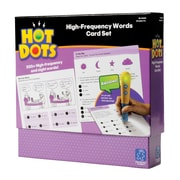 Educational Insights 2340 Hot Dots High Frequency Words Card Set