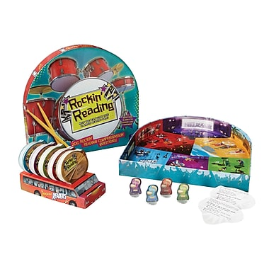 Educational Insights® Rockin' Reading™ Comprehension Game, Grades 3 and Above